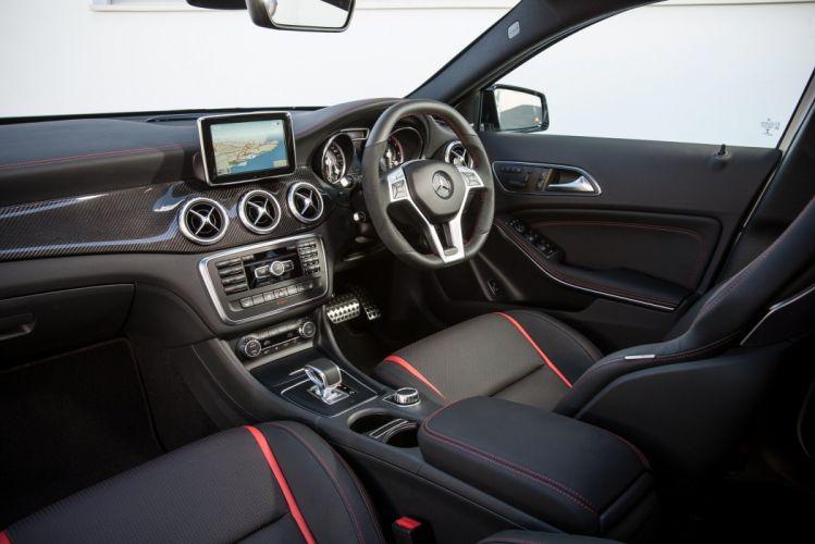 Mercedes GLA 45-AMG UK-spec 2014 cars suv wallpaper