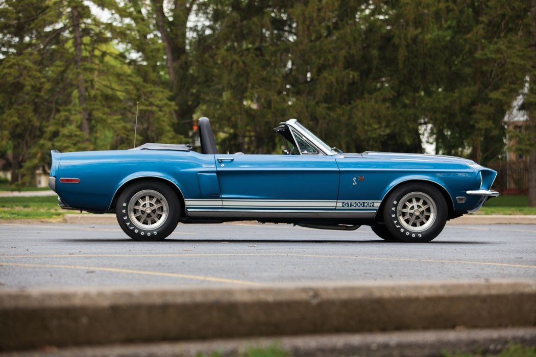 1968 Shelby GT500 KR Convertible cars classic wallpaper