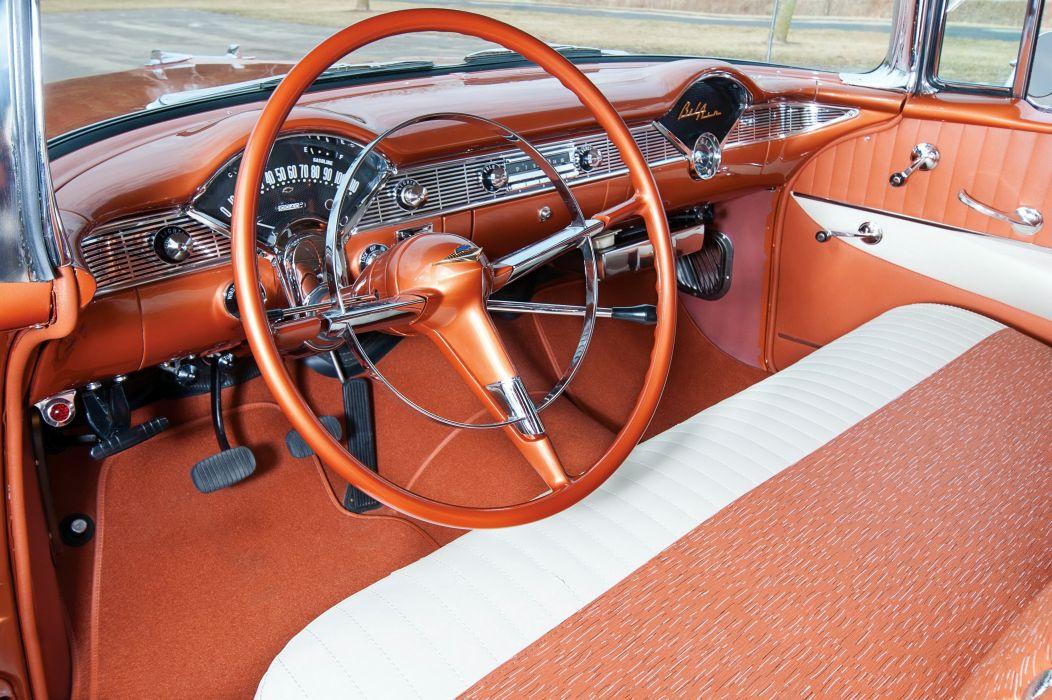 1956 Chevrolet Bel Air Convertible cars classic wallpaper