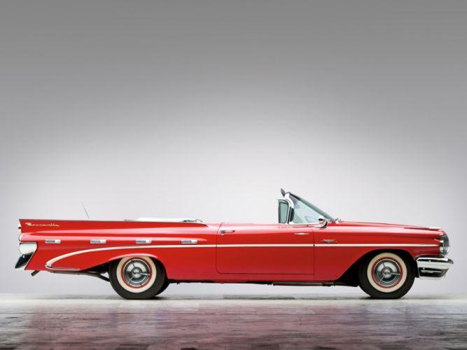 Pontiac Bonneville Custom Convertible cars classic 1959 wallpaper