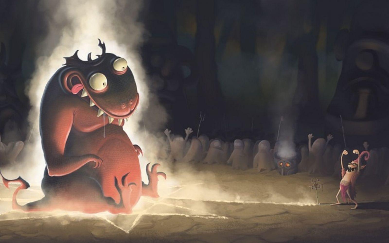 Приколы картинки демон, крутые картинки