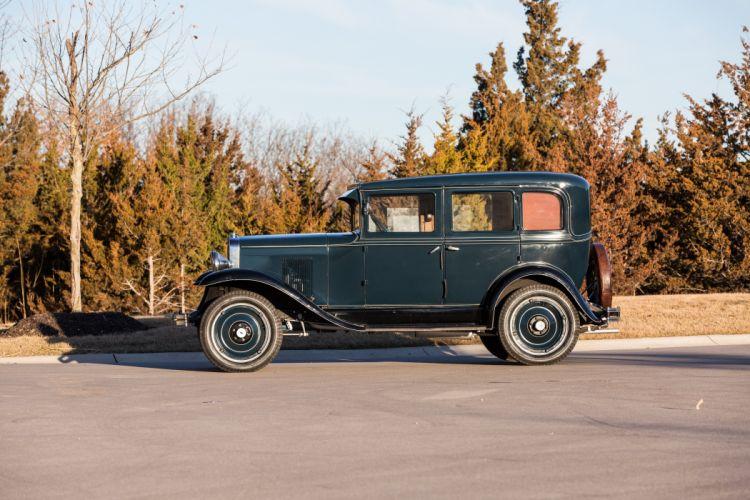 1929 Chevrolet Town Sedan Four Door Classic Old Vintage Original Retro USA 5760x3840-04 wallpaper