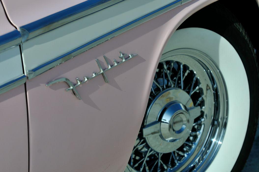 1955 DeSoto Sportsman Powerflite Coupe Hardtop Classic Old Vintage Original Retro USA 4288x2848-07 wallpaper