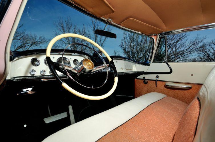 1955 DeSoto Sportsman Powerflite Coupe Hardtop Classic Old Vintage Original Retro USA 4288x2848-10 wallpaper