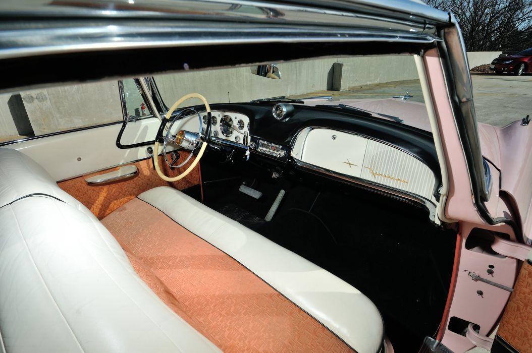 1955 DeSoto Sportsman Powerflite Coupe Hardtop Classic Old Vintage Original Retro USA 4288x2848-13 wallpaper