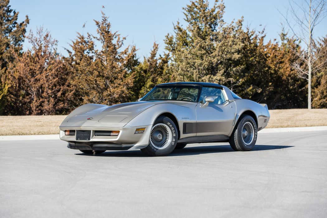 1982 Chevrolet Corvette Collector Edition Muscle Classic Old Original USA-5760x3840-01 wallpaper