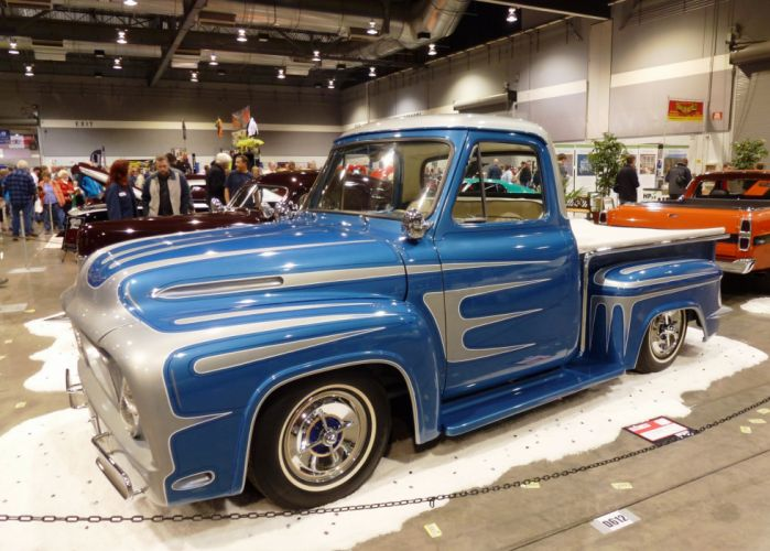 Ford F100 Pickup custom classic cars wallpaper