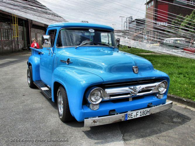 Ford F100 Pickup custom classic cars wallpaper