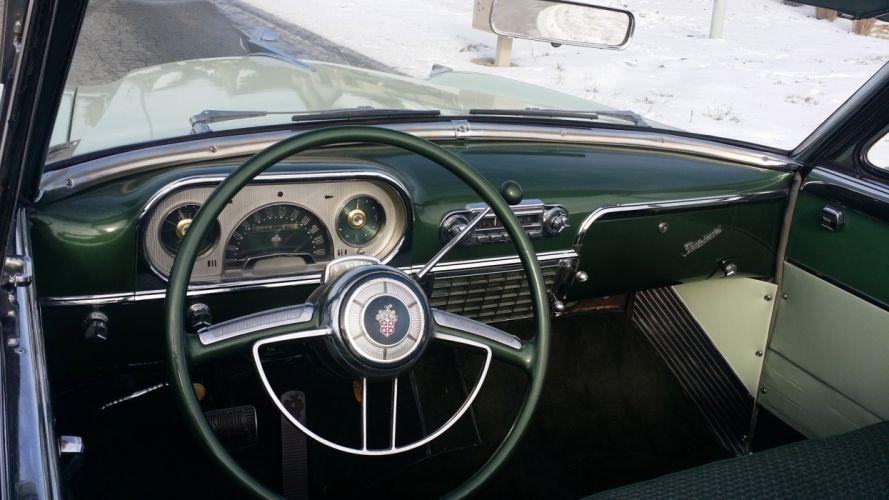 1954 Packard Caribbean Convertible Classic Old Vintage Retro OriginL usa 4096X2304-06 wallpaper