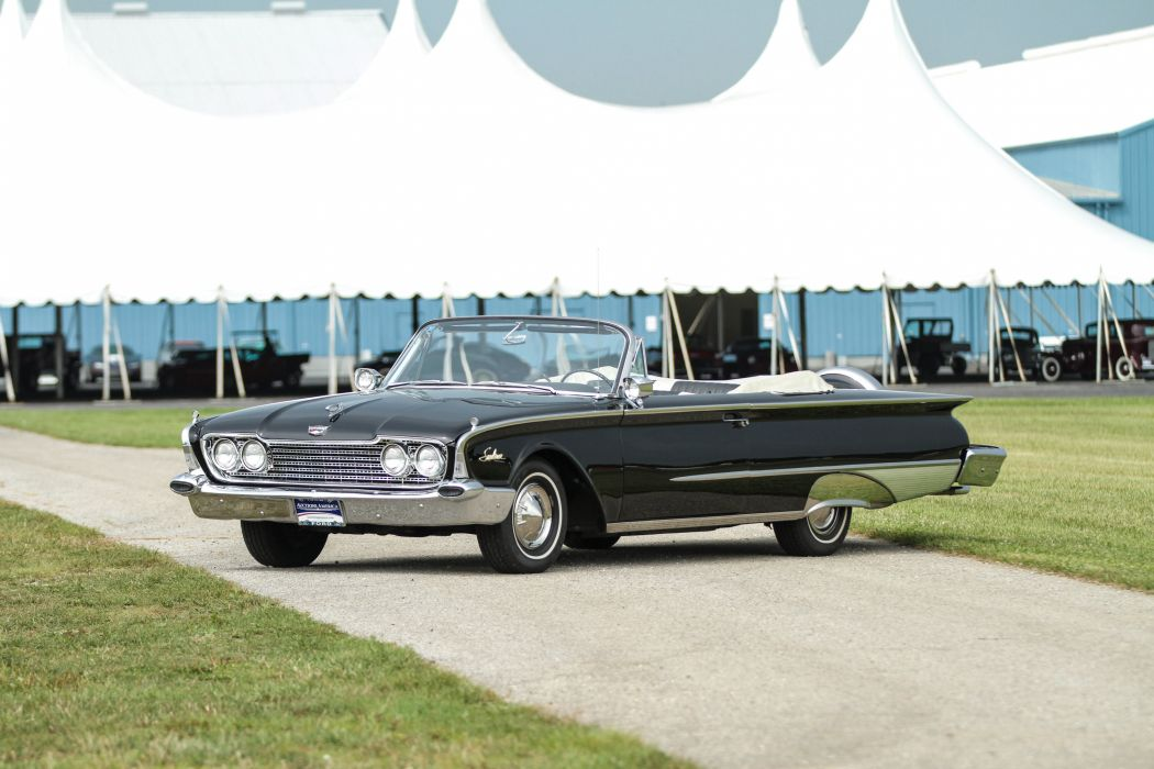 1960 Ford Galaxie Special Sunliner Classic Old Vintage Retro Original USA 4096x2731-02 wallpaper