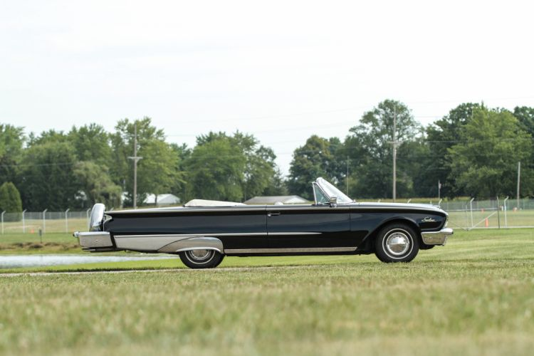 1960 Ford Galaxie Special Sunliner Classic Old Vintage Retro Original USA 4096x2731-03 wallpaper