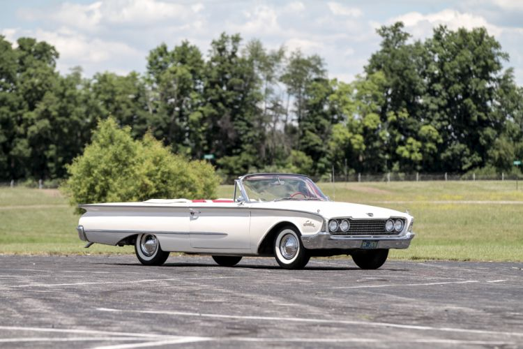 1960 Ford Galaxie Special Sunliner Classic Old Vintage Retro Original USA 4096x2731-04 wallpaper