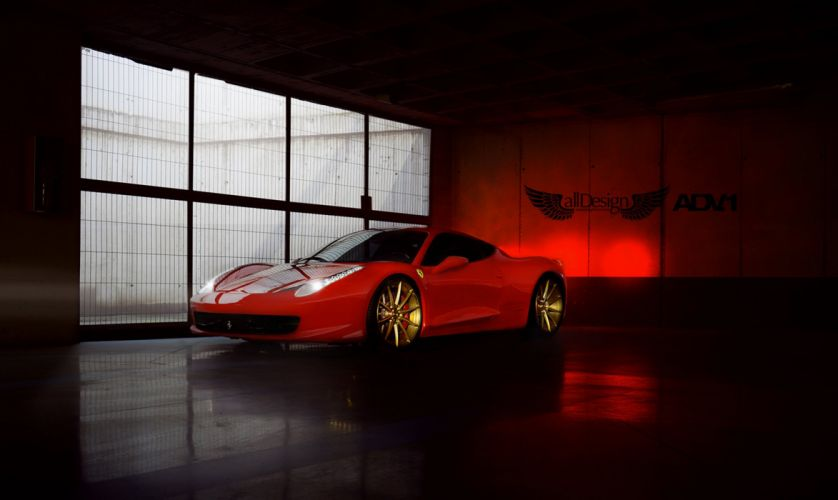 adv1 wheels cars tuning FERRARI 458 ITALIA wallpaper