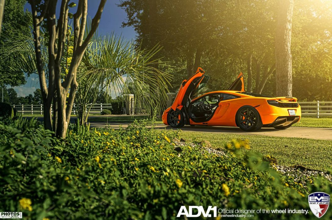 adv1 wheels cars tuning MCLAREN MP4-12C wallpaper