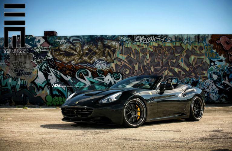 adv1 wheels cars tuning CALIFORNIA ferrari convertible wallpaper