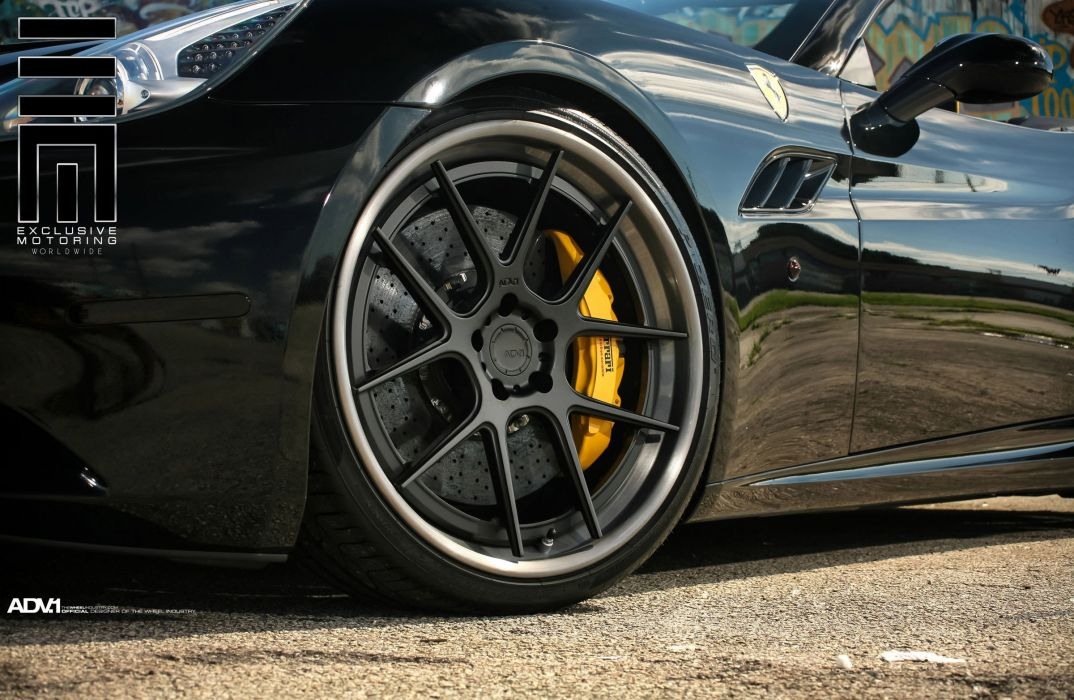 adv1 wheels cars tuning CALIFORNIA ferrari convertible wallpaper