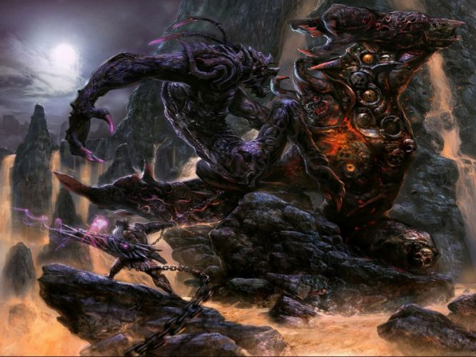 fantasy artwork art creature monster wallpaper