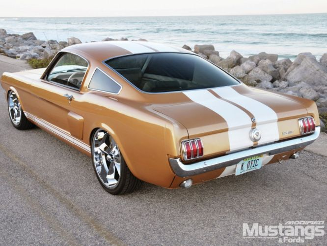 1965 Ford Mustang GT Fastback Streetrod Street Rod Rodder Super Muscle USA 1600x1200-02 wallpaper