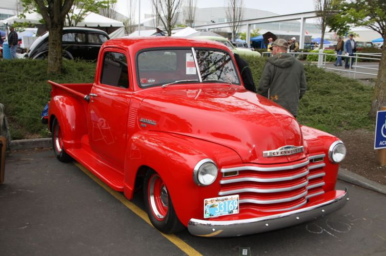 1949 Chevrolet 3100 Pickup Hotrod Hot Rod Custom Old School USA 4752x3156-01 wallpaper