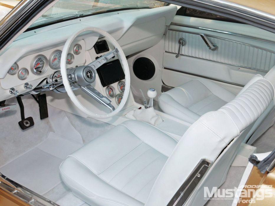 1965 Ford Mustang GT Fastback Streetrod Street Rod Rodder Super Muscle USA 1600x1200-03 wallpaper