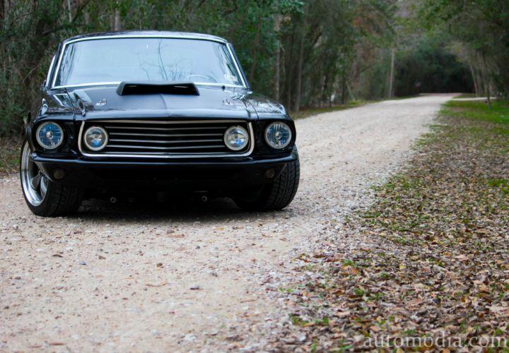 1967 Ford Mustang Fastback Street Rod Rodder Hot Muscle USA 5000x3474-05 wallpaper