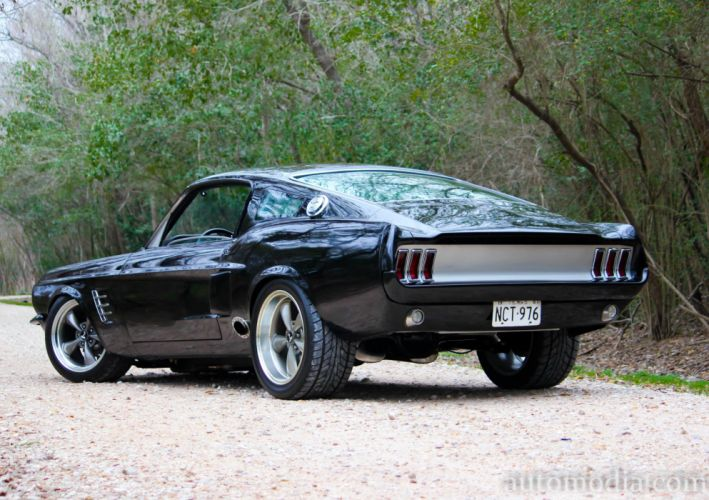 1967 Ford Mustang Fastback Street Rod Rodder Hot Muscle USA 5000x3527-07 wallpaper
