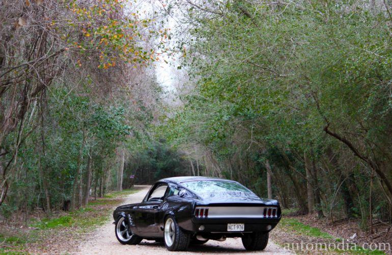 1967 Ford Mustang Fastback Street Rod Rodder Hot Muscle USA 5000x3248-01 wallpaper