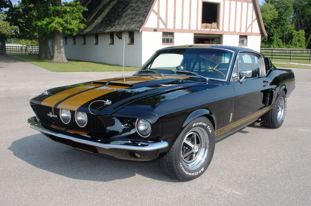 1967 Ford Mustang Shelby GT 350 Muscle Classic Old USA 3872x2572-03 wallpaper