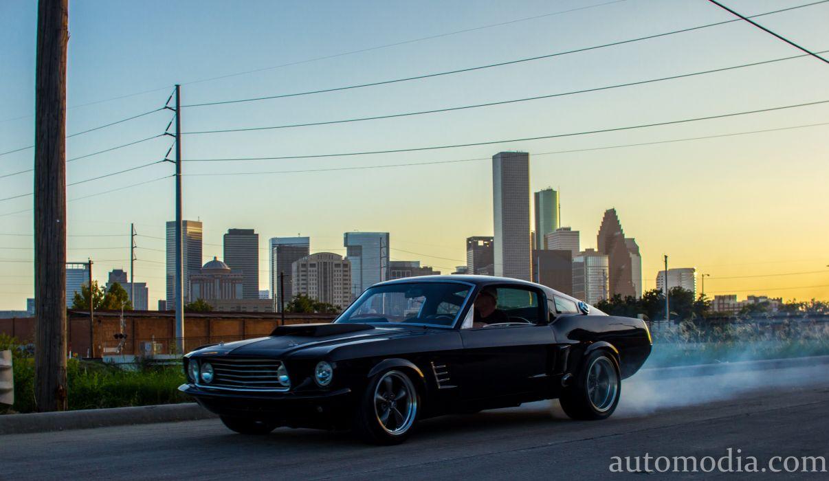 1967 Ford Mustang Fastback Street Rod Rodder Hot Muscle USA 5000x2903-02 wallpaper