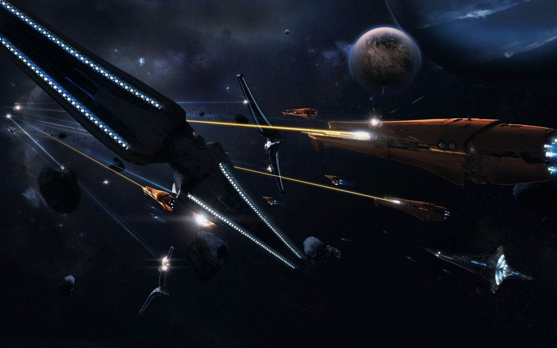 sci-fi battle fighting war art artwork warrior futuristic spaceship space wallpaper