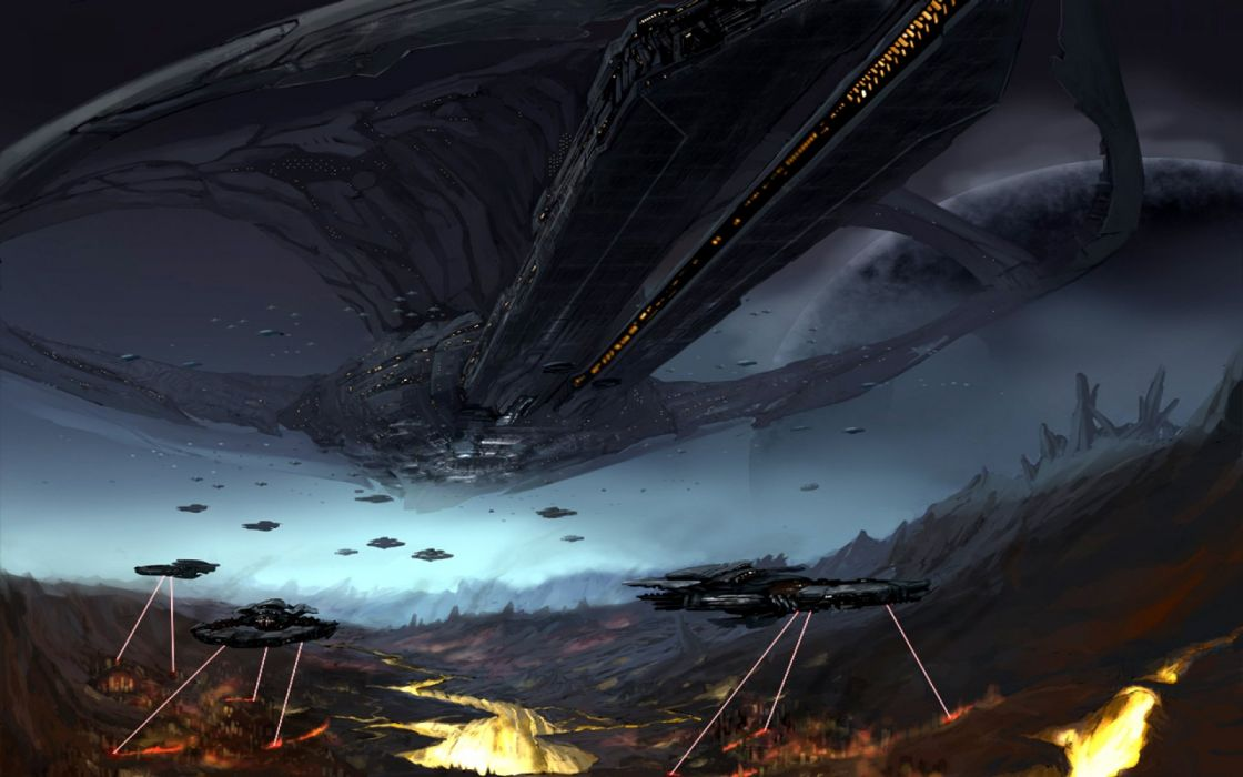 sci-fi battle fighting war art artwork warrior futuristic wallpaper
