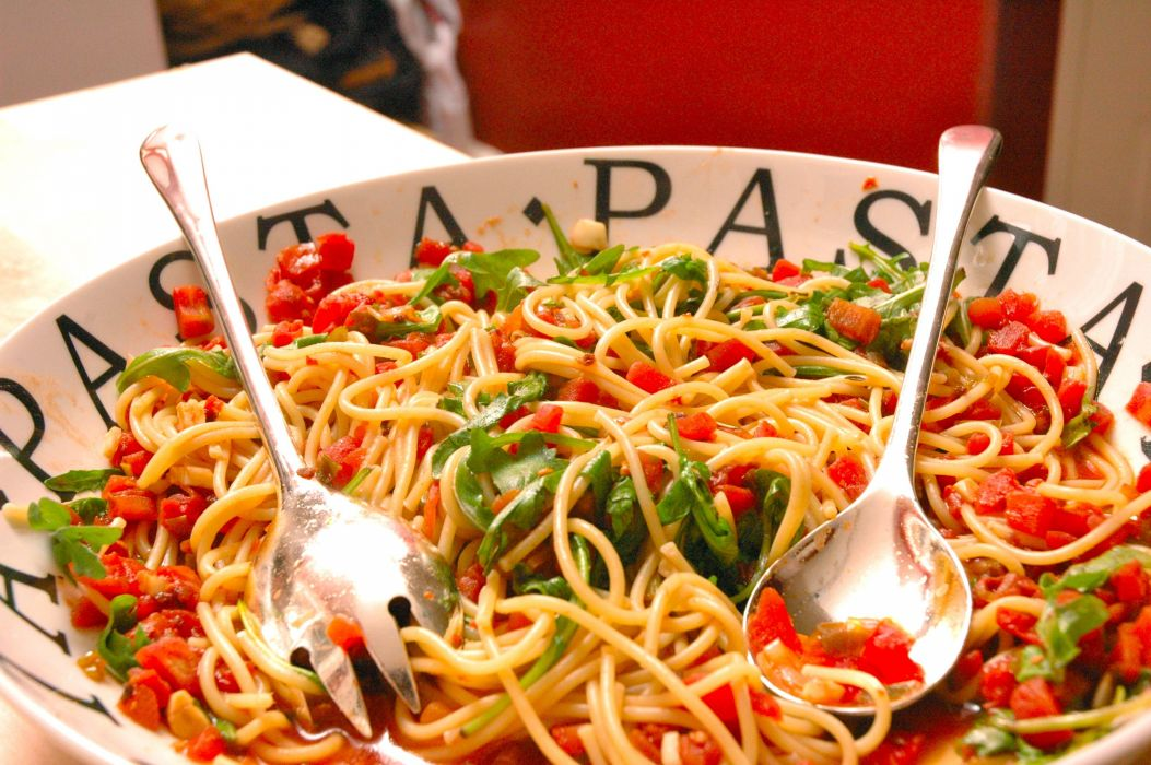 PASTA noodles dinner lunch meal food wallpaper