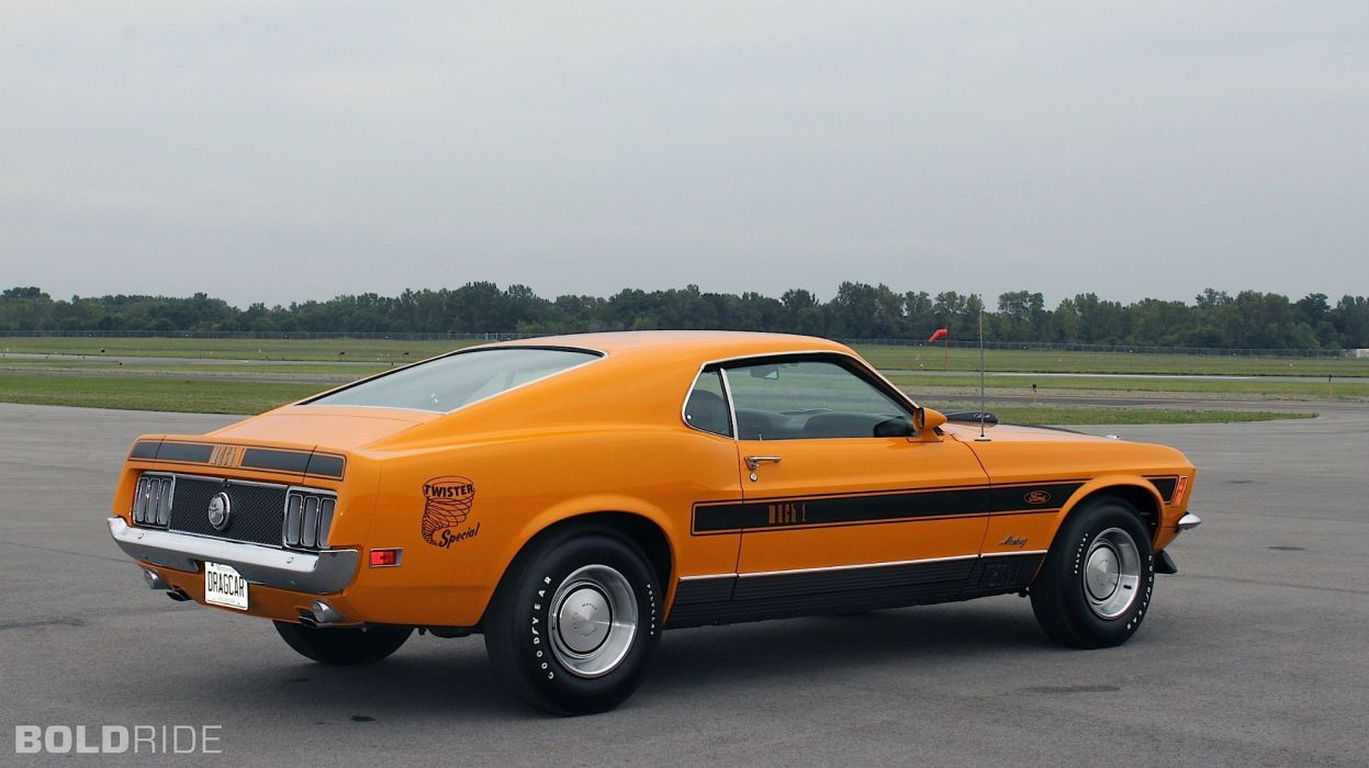1970 Ford Mustang Mach 1 Twister muscle classic wallpaper
