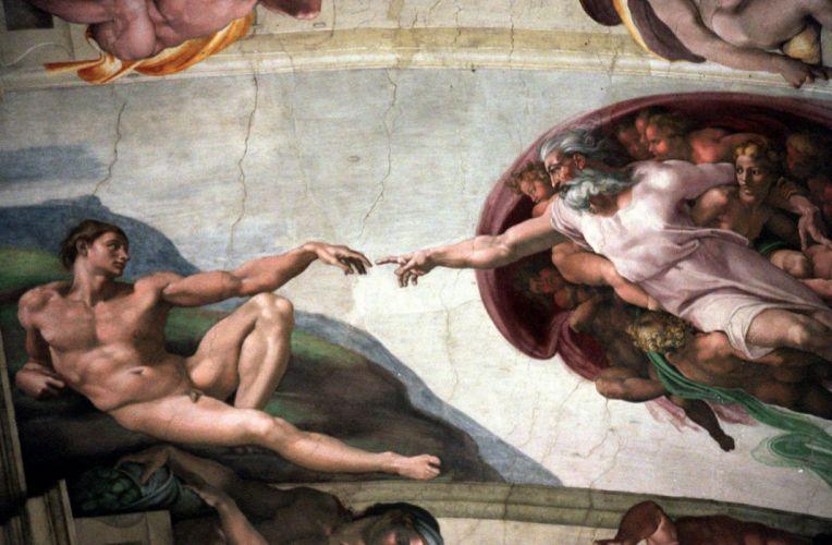 cuadros arte miguel angel frescos wallpaper