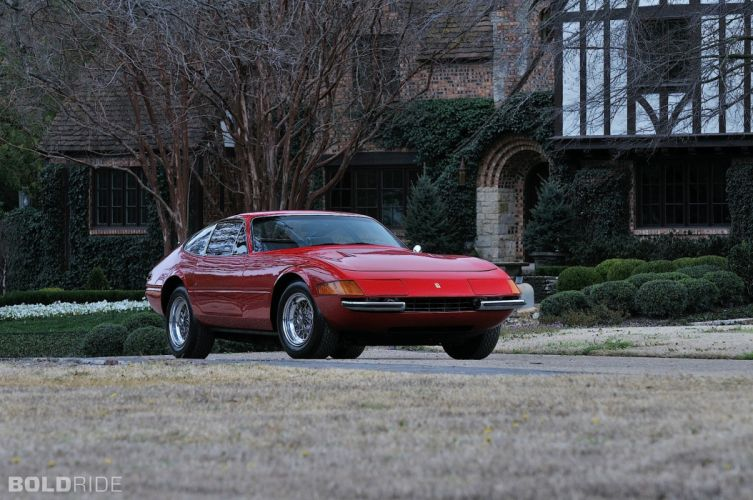 4 Daytona Berlinetta cars coupe cars classic red rosso wallpaper