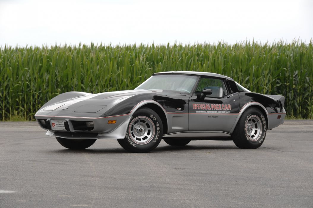 1978 Chevrolet Corvette Pace Car Edition Muscle Classic Old USA 4288x2848-04 wallpaper