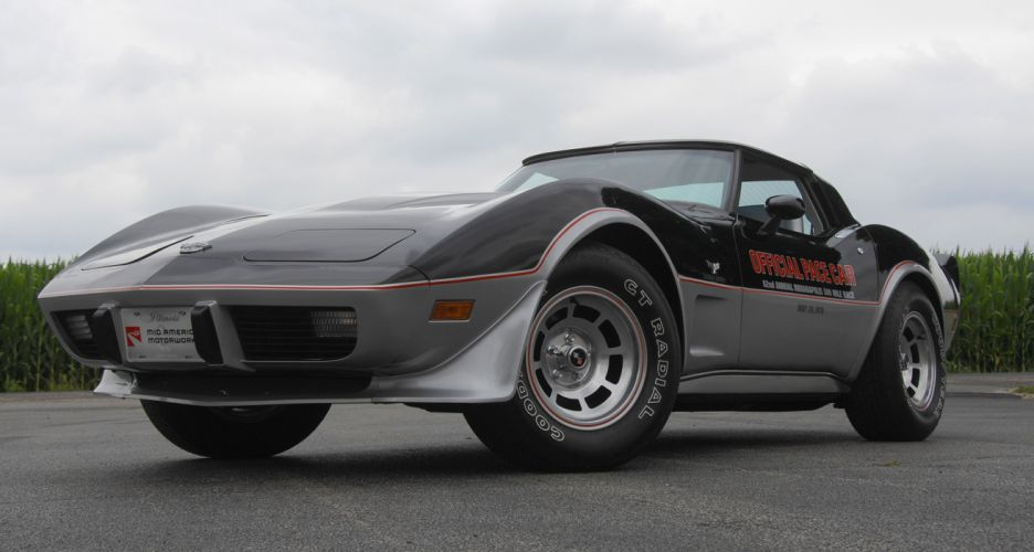 1978 Chevrolet Corvette Pace Car Edition Muscle Classic Old USA 4288x2848-08 wallpaper
