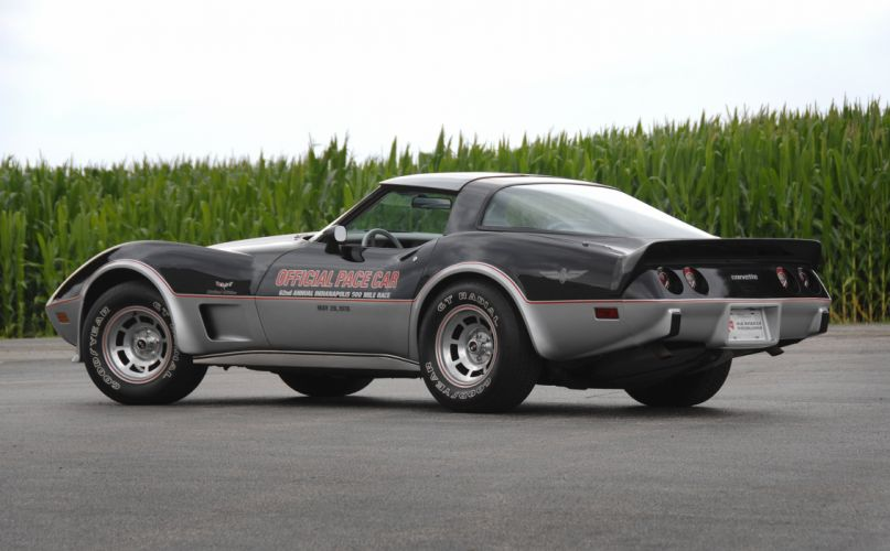 1978 Chevrolet Corvette Pace Car Edition Muscle Classic Old USA 4288x2848-09 wallpaper