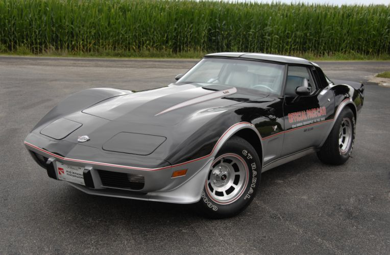 1978 Chevrolet Corvette Pace Car Edition Muscle Classic Old USA 4288x2848-07 wallpaper