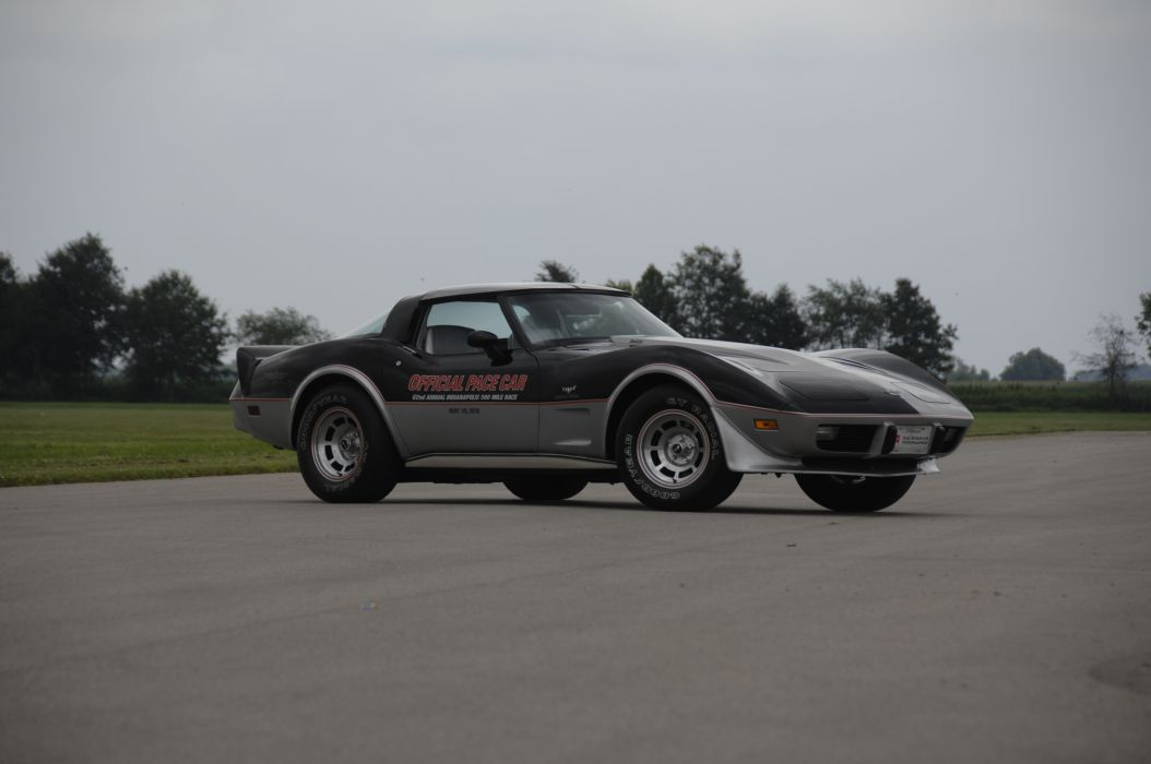 1978 Chevrolet Corvette Pace Car Edition Muscle Classic Old USA 4288x2848-10 wallpaper