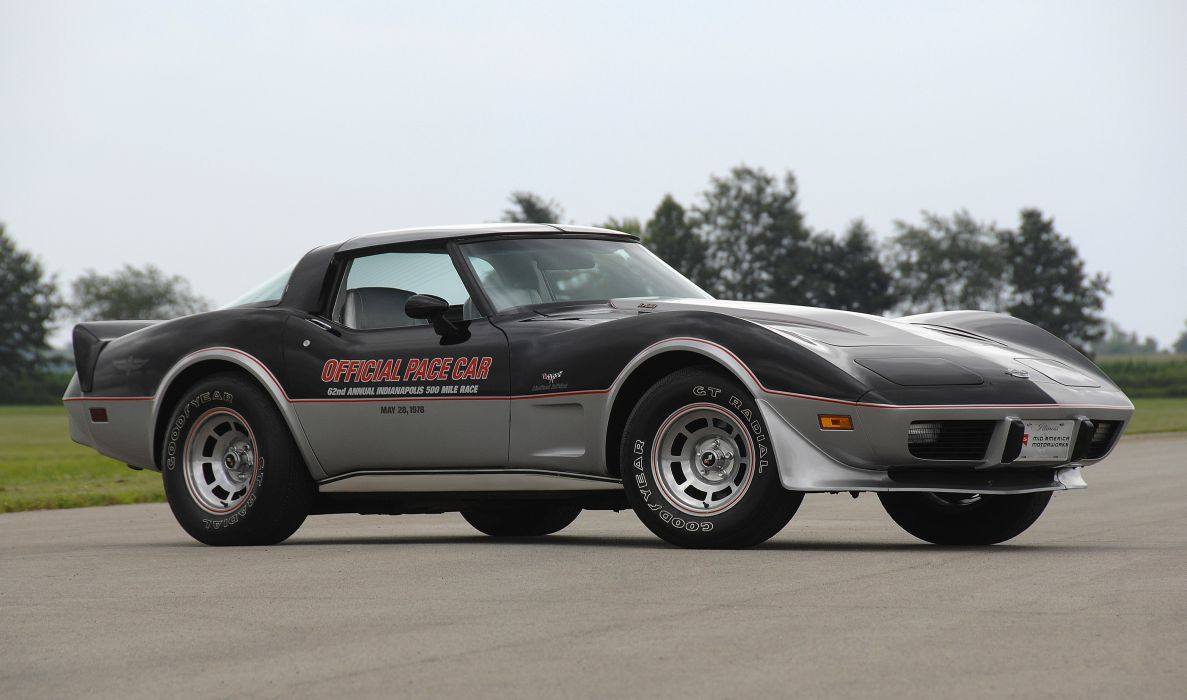 1978 Chevrolet Corvette Pace Car Edition Muscle Classic Old USA 4288x2848-11 wallpaper