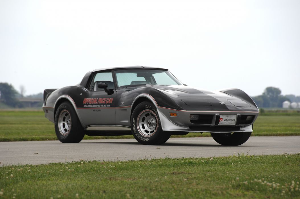 1978 Chevrolet Corvette Pace Car Edition Muscle Classic Old USA 4288x2848-12 wallpaper