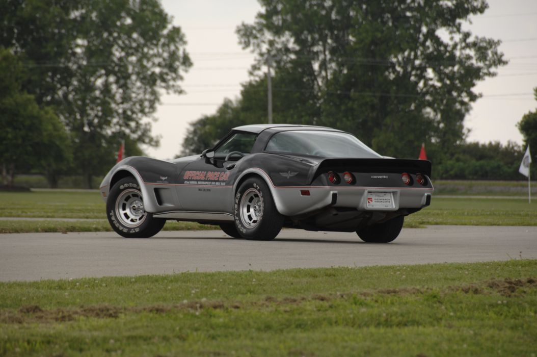 1978 Chevrolet Corvette Pace Car Edition Muscle Classic Old USA 4288x2848-14 wallpaper