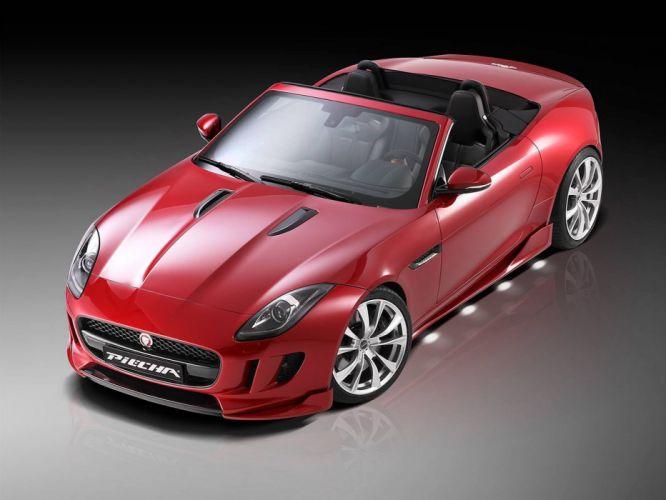 Piecha Design Jaguar F-Type convertible cars tuning wallpaper