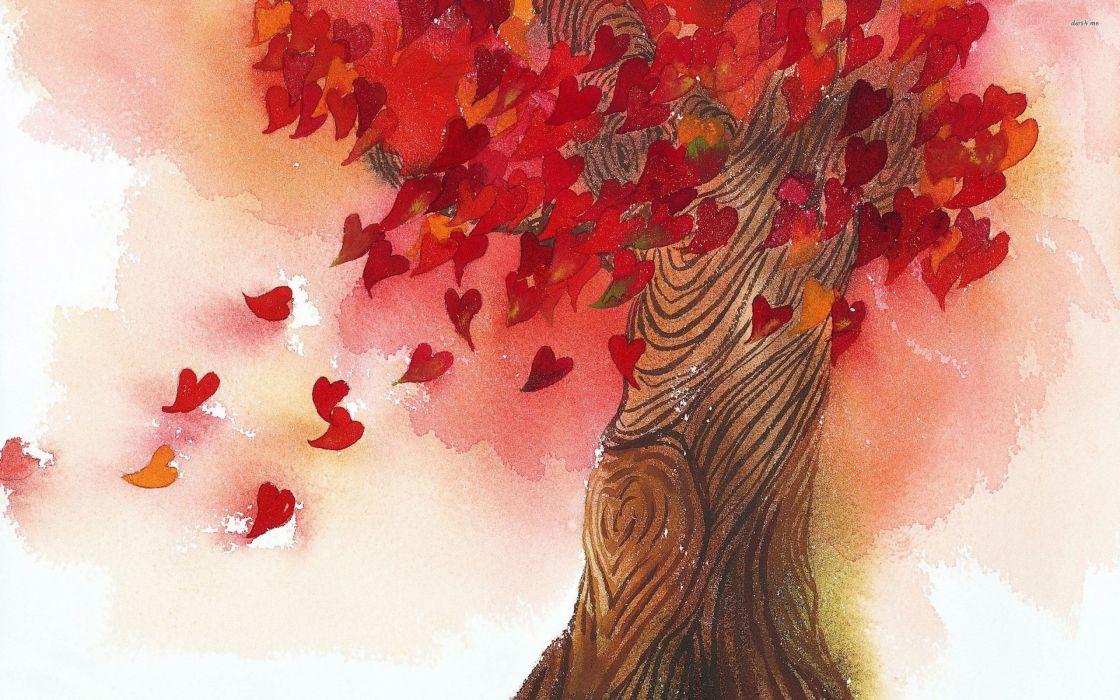 nature tree landscape art artwork artistic wallpaper