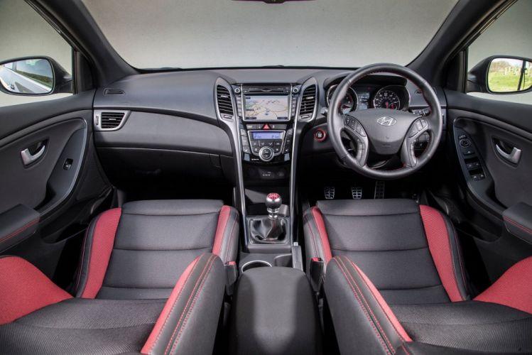 Hyundai i30 Turbo 5-door UK-spec cars 2015 wallpaper