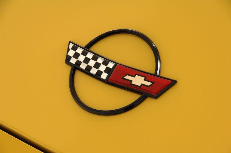 1987 Chevrolet Corvette Escort Car Muscle Competition Race USA 4288x2848-02 wallpaper