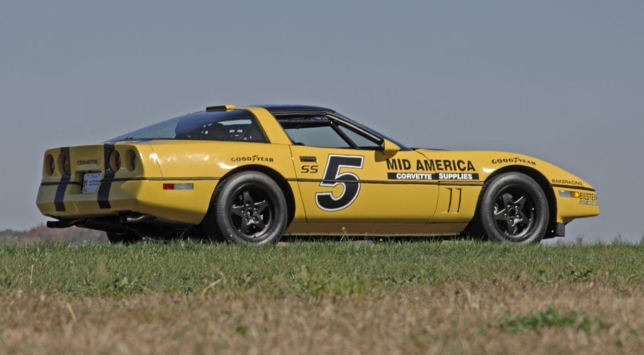 1987 Chevrolet Corvette Escort Car Muscle Competition Race USA 4288x2848-11 wallpaper