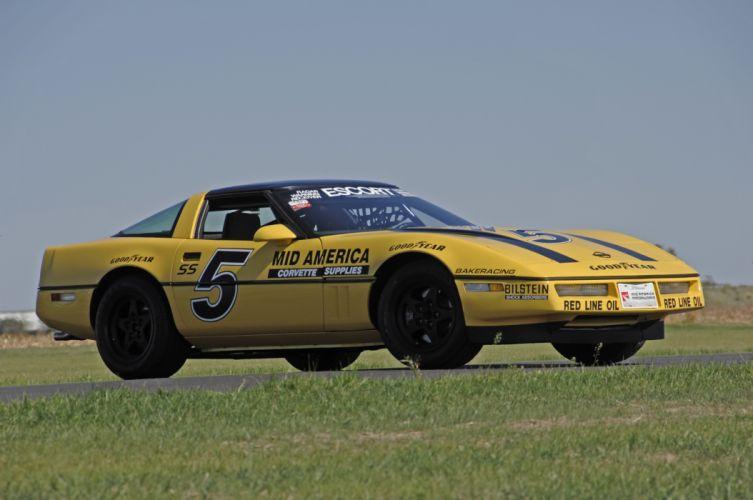 1987 Chevrolet Corvette Escort Car Muscle Competition Race USA 4288x2848-12 wallpaper