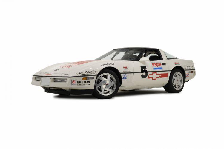 1988 Chevrolet Corvette Challenge Race Car Classic USA 02 wallpaper